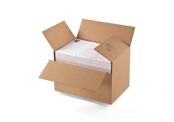 Aufrichtverpackungen mit Höhenvariablen