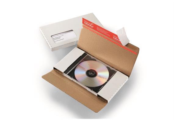 CD mit Brief Versandverpackung und Jewelcase