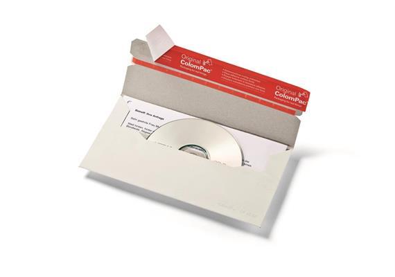 CD mit Brief Versandverpackungen - 222 × 123 × 3 mm