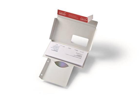 CD mit Brief Versandverpackungen - 223 × 125 × 3 mm