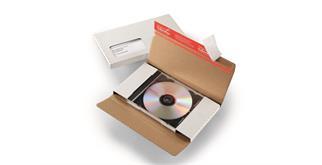CD mit Briefversandverpackung und Jewelcase