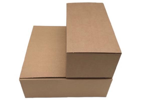 Doppelwellige Verpackung mit Blitzboden - 325 ×