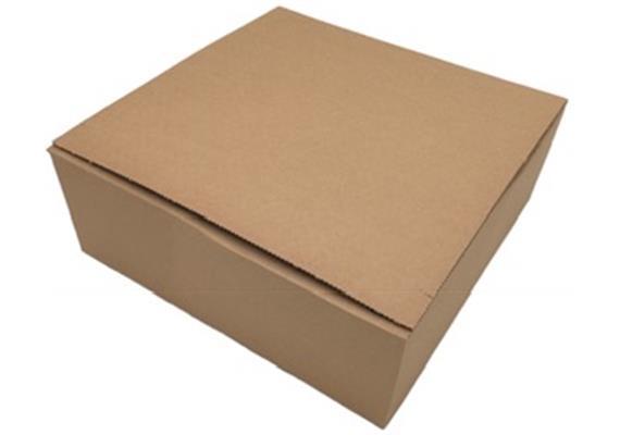 Doppelwellige Verpackung mit Blitzboden - 325 × 325 × 120 mm
