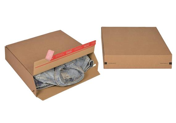 Euroboxen L 400x100 mm bis 400x400 mm - 400 × 100 × 400 mm