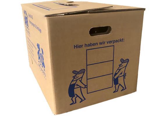 Faltschachtel Fefco-Typ 0201 Spezial T / 2-wellig