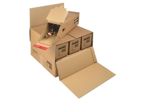 Flaschen Versandverpackungen - 385 × 375 × 265 mm