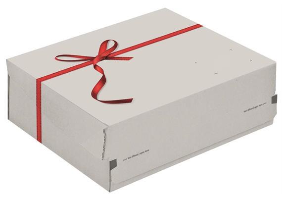 Geschenkverpackungen bedruckt - 250 × 177 × 96 mm