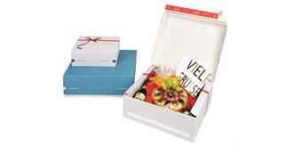 Geschenkverpackungen bedruckt - 373 × 298 × 130 mm
