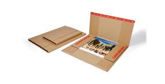 Kalenderversand Verpackung 500 x 340 - 720 x 530 x - 25 mm - 545 x 345 x 28 mm