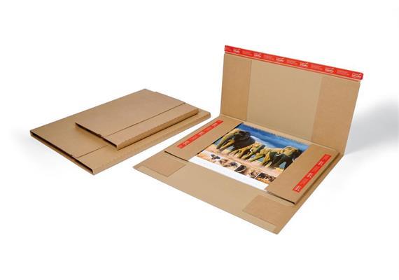 Kalenderversand Verpackung 500 x 340 - 720 x 530 x - 25 mm - 765 x 535 x 28 mm
