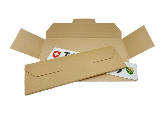 Nummernschilder-Versandverpackung - 512 x 173 x 9 mm
