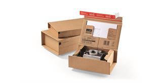 Paketversandverpackungen - 285 × 190 × 100 mm