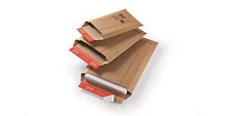 Versandtaschen aus stabiler Wellpappe - 262 × 375 mm