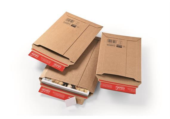 Versandtaschen aus Wellpappe feinwellig - 250 × 351 mm