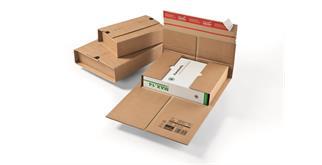 Versandverpackungen aus Wellpappe - 400 × 340 × -95 mm