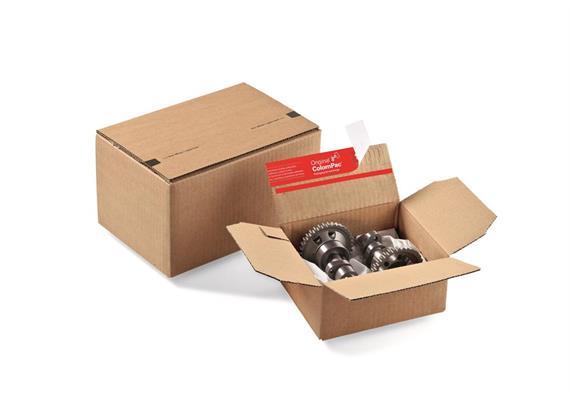 Versandverpackungen mit Blitzboden - 265 × 235 × 140 mm